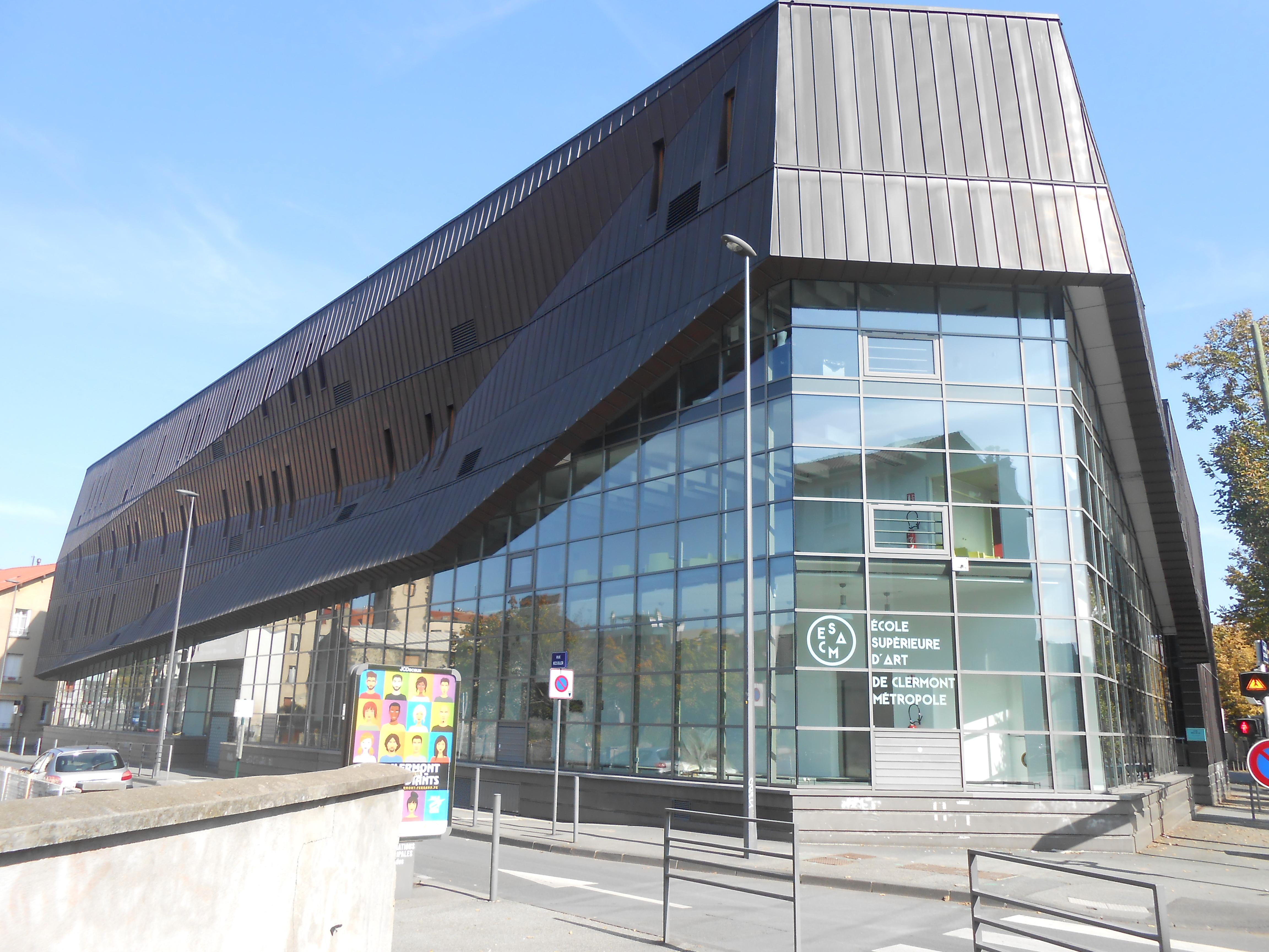 École D Architecture Clermont file:ecole des beaux-arts de clermont-ferrand