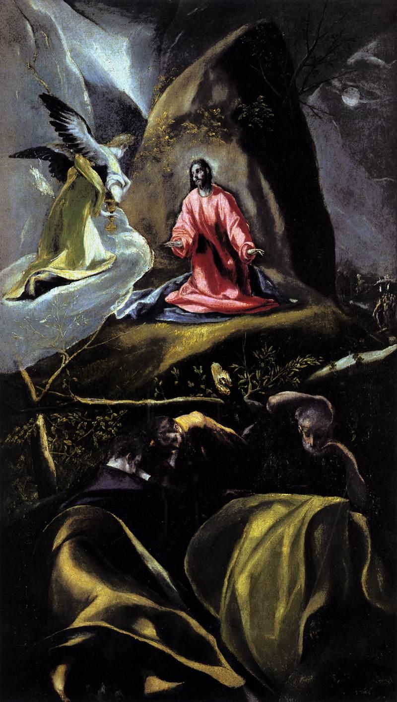 File El Greco The Agony In The Garden Wga10558 Jpg