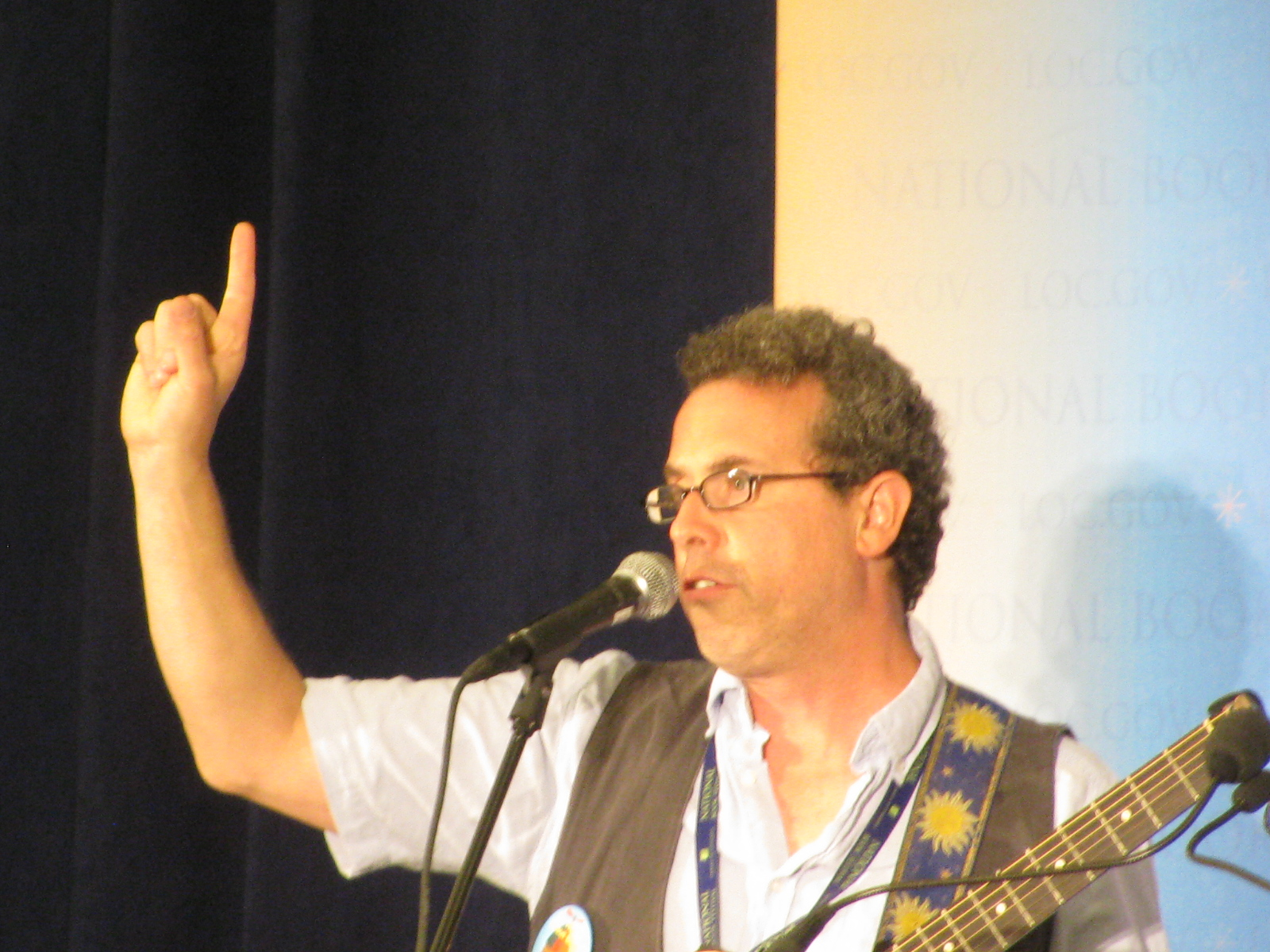 Litwin at a [[National Book Festival]] reading, August 2014