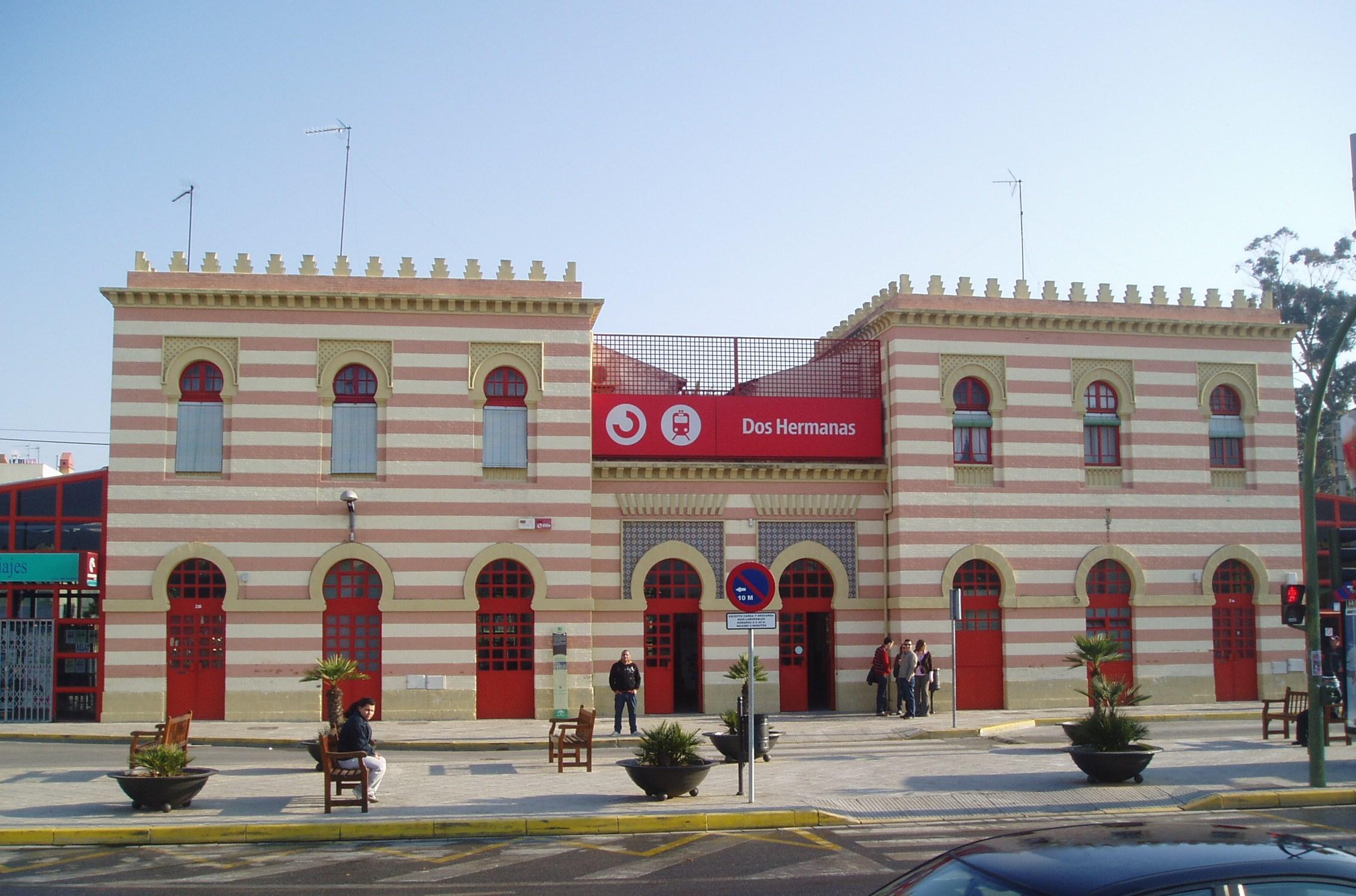 Resultado de imagen de RENFE DOS HERMANAS