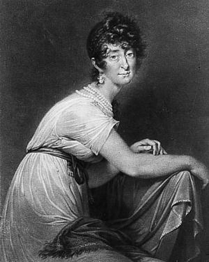 Gemälde: Fanny von Arnstein, eine Großtante von Fanny Hensel