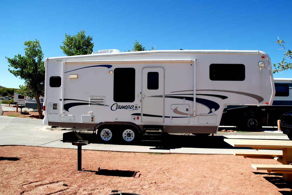 Wheel Travel Trailers King Bed Dishwasher Bath Tub