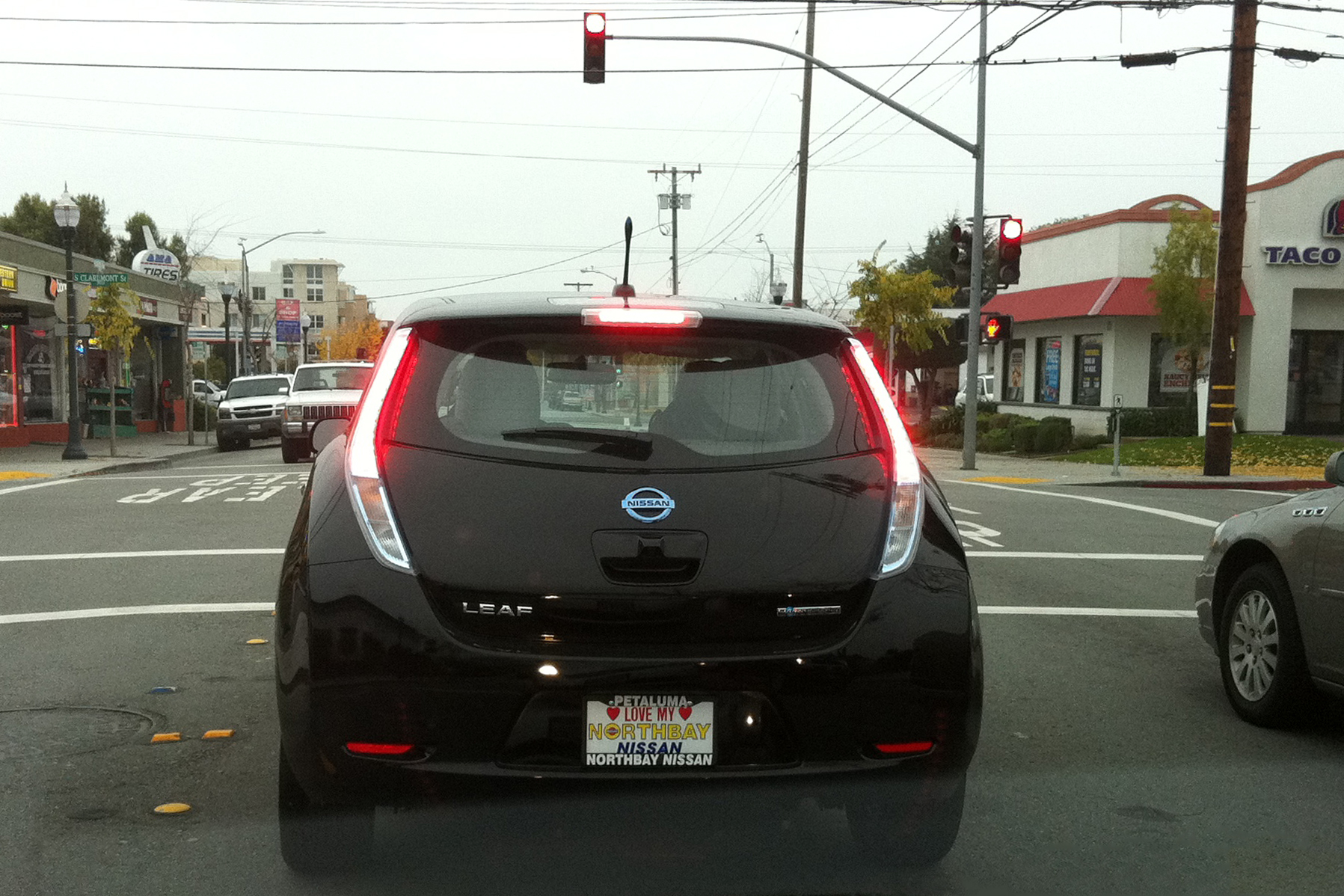 File First Customer Owned Nissan Leaf Rear View Jpg
