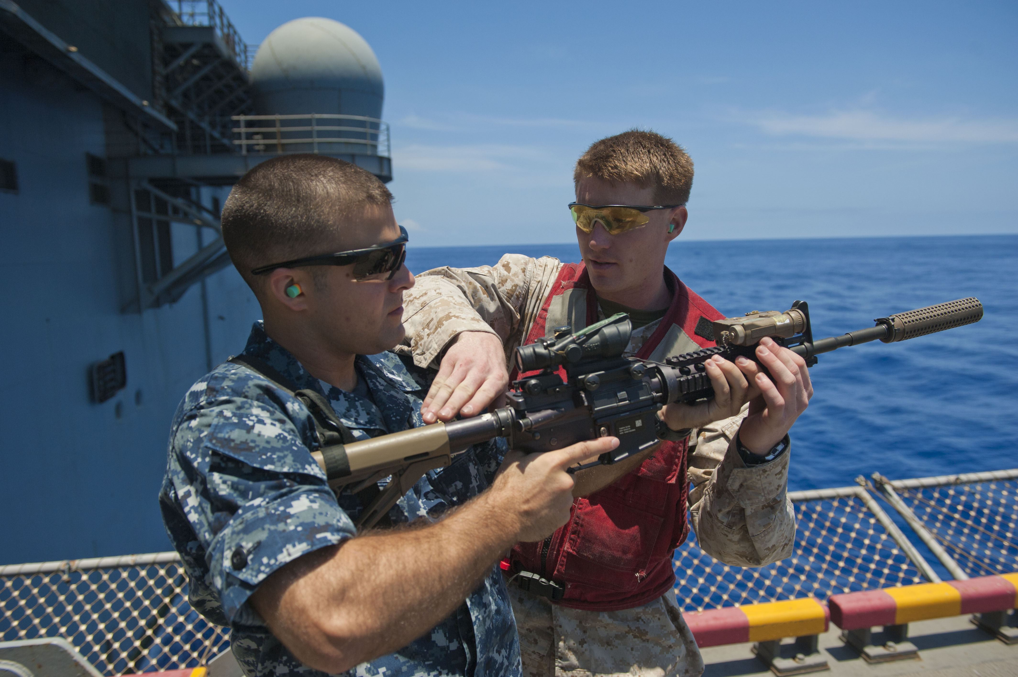 File:Flickr - Official U.S. Navy Imagery - A Marine how to ...