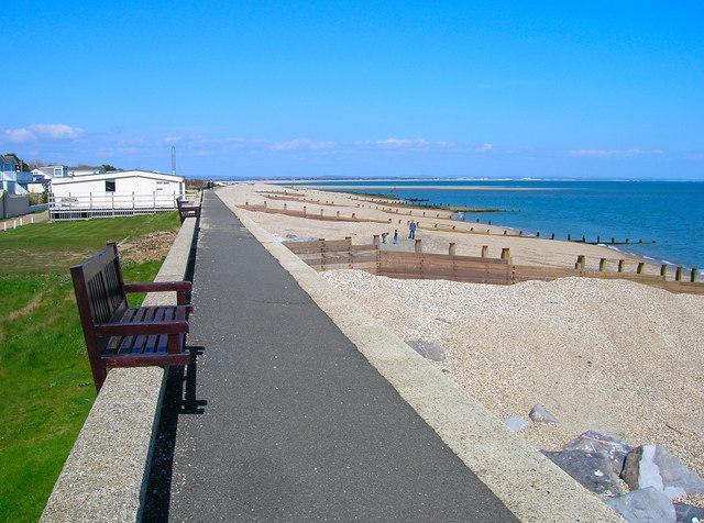 Footpath, East Beach - geograph.org.uk - 765821