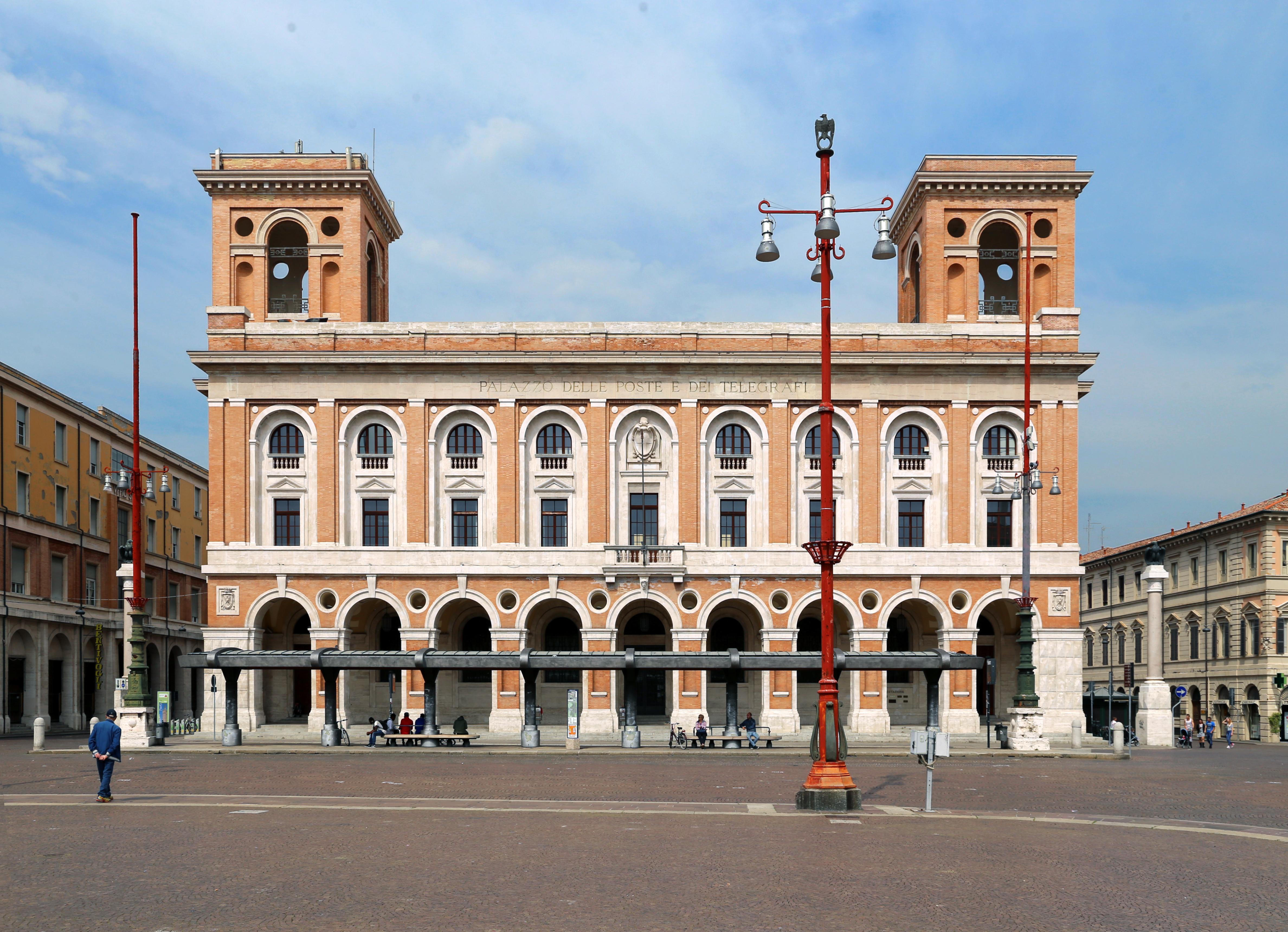 Piazza Della Misura Forli.File Forli Piazza Aurelio Saffi Poste E Telegrafi 02 Jpg Wikipedia