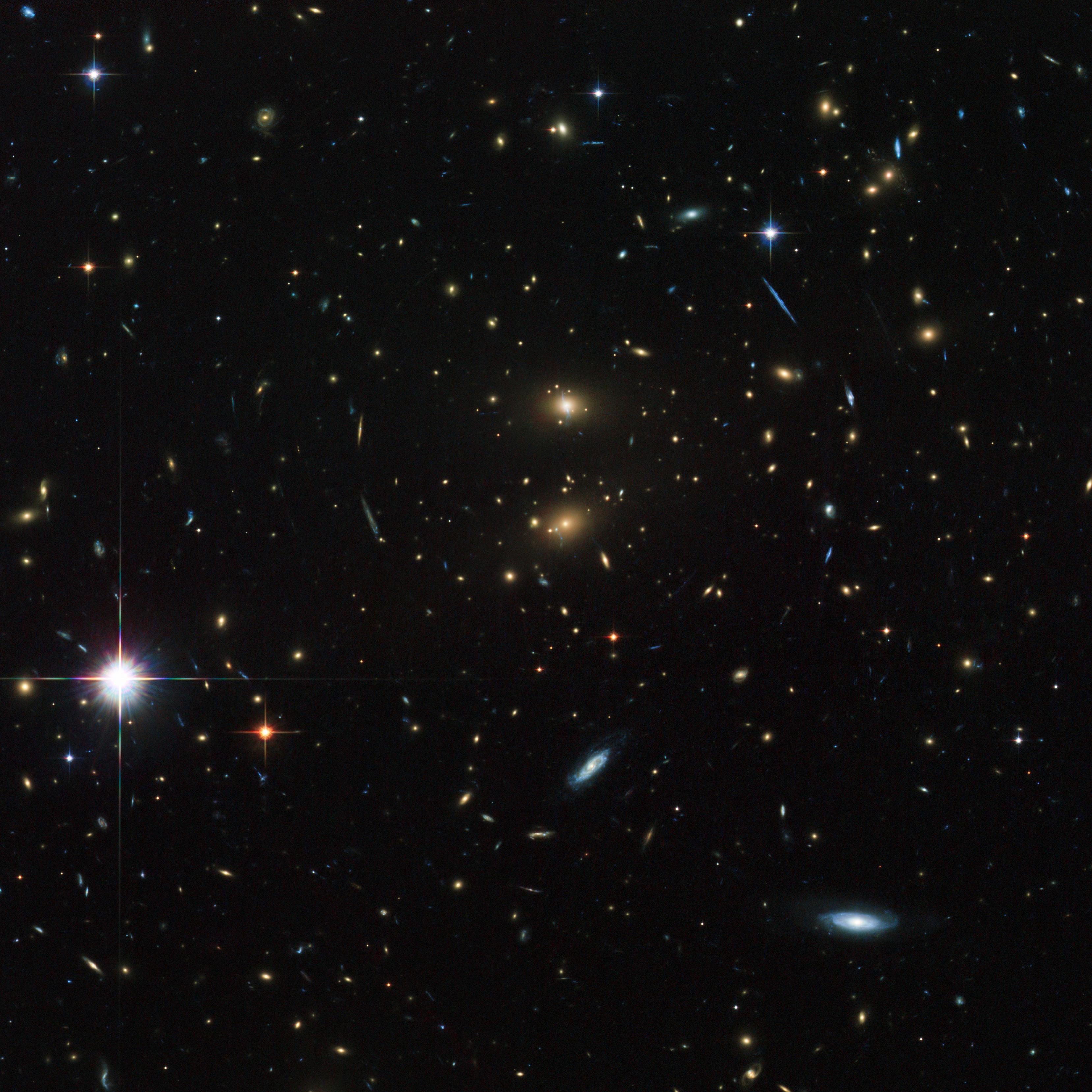 File Galaxy Cluster Lcdcs 0829 Jpg Wikimedia Commons