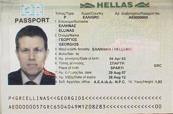 Greek Passport Wikiwand