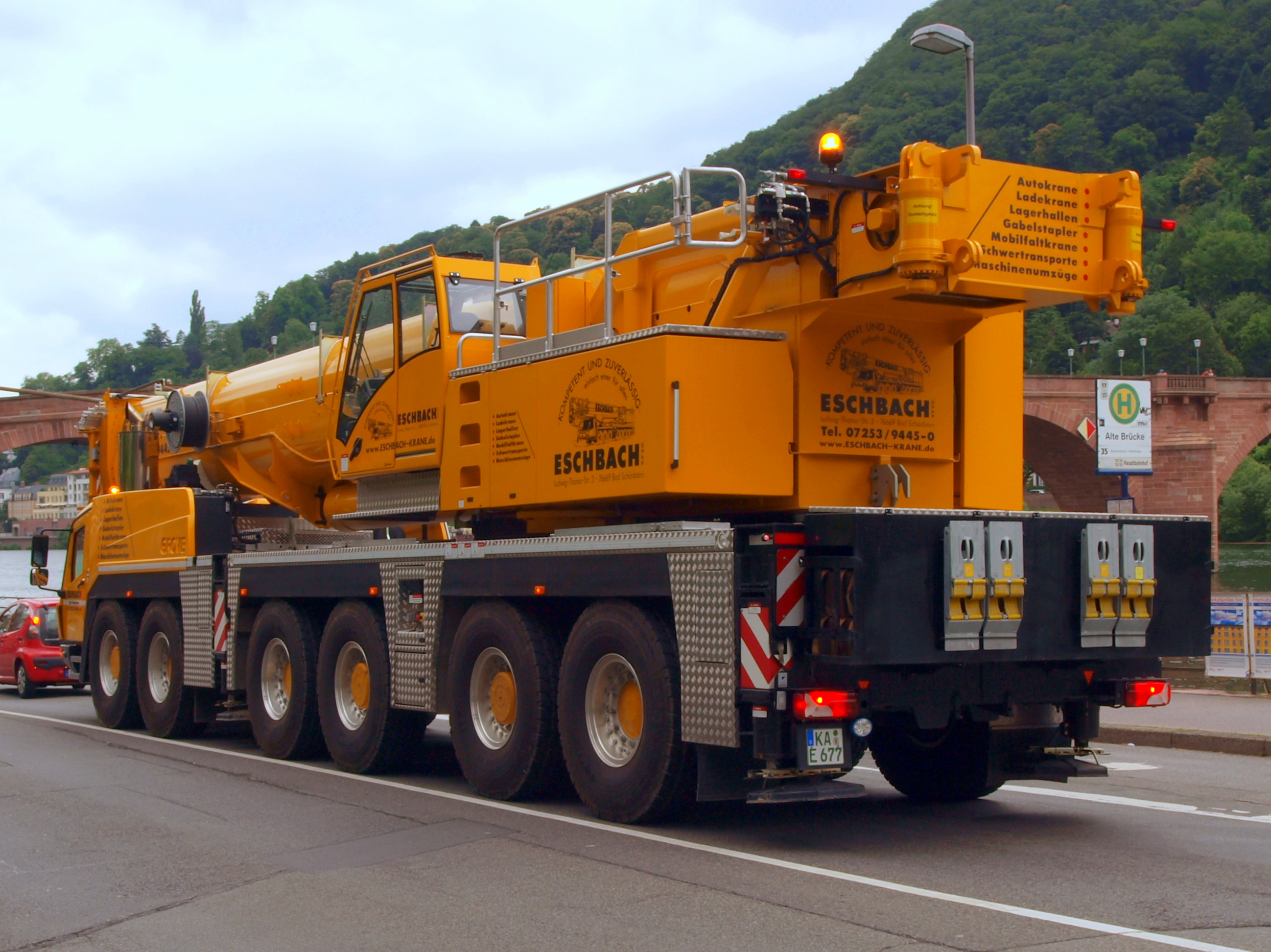 File Grove Telescopic Crane In Germany Pic2 Jpg