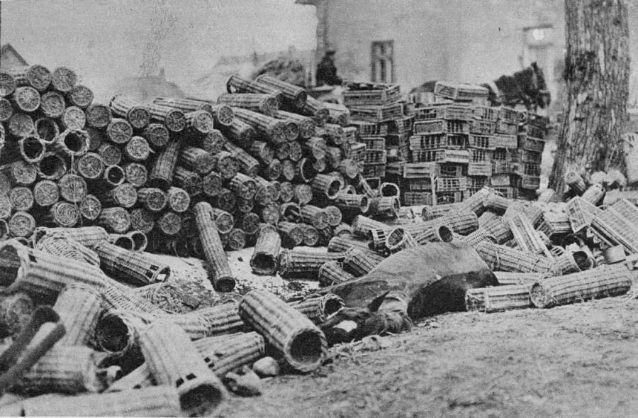 ww1 artillery shells