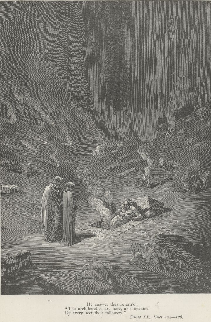imagery in dantes inferno Inferno, canto i - midway upon the journey of our life.