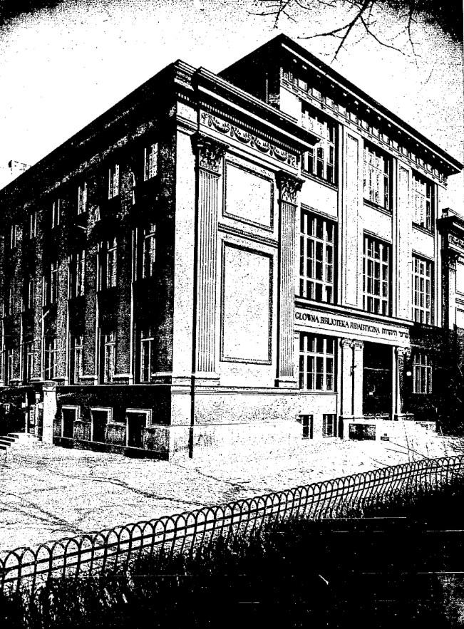 Główna Biblioteka Judaistyczna