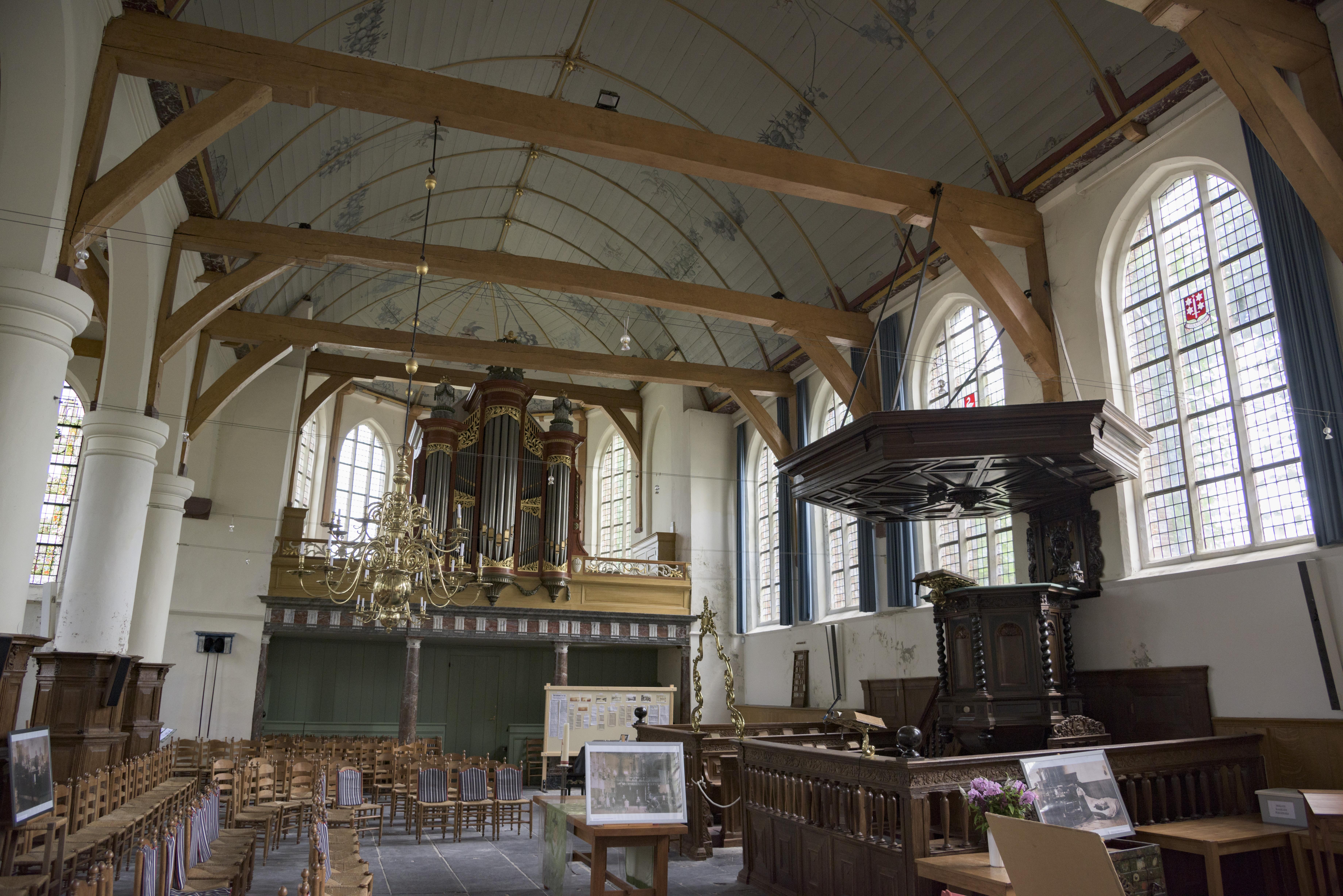 Interieur Broeker Kerk%2C Broek in Waterland hnapel 002 - Broeker Kerk Broek In Waterland