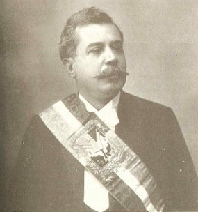 Juan Isidro Jimenes Pereyra President of the Dominican Republic