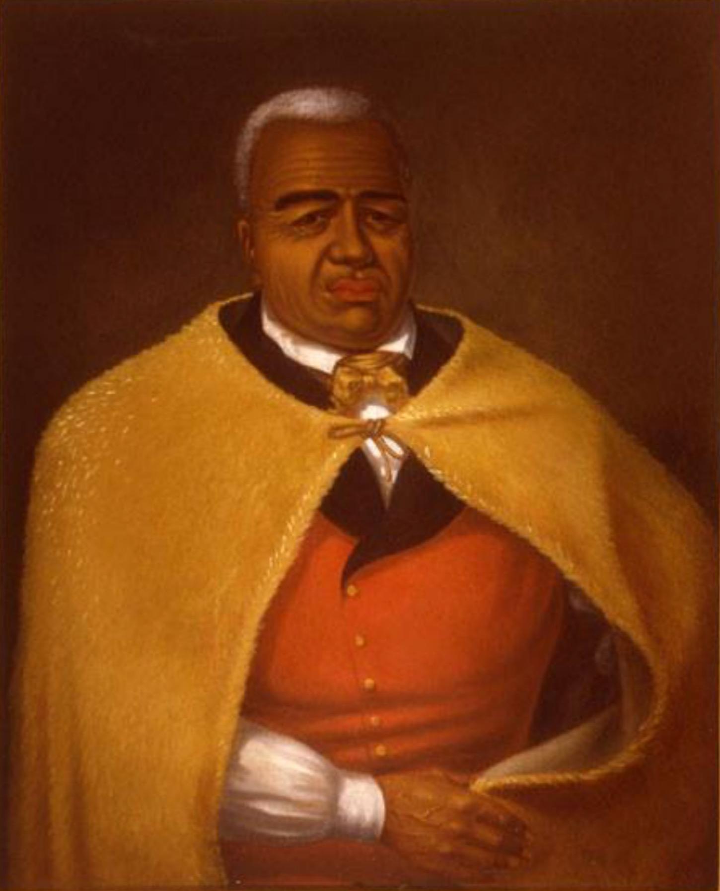 Depiction of Kamehameha I