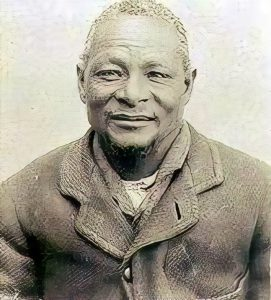 Kgosi Galeshewe Chief of the Tlhapin