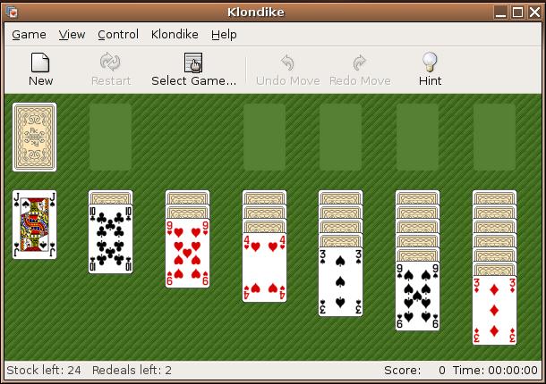 kortspill kabal regler
