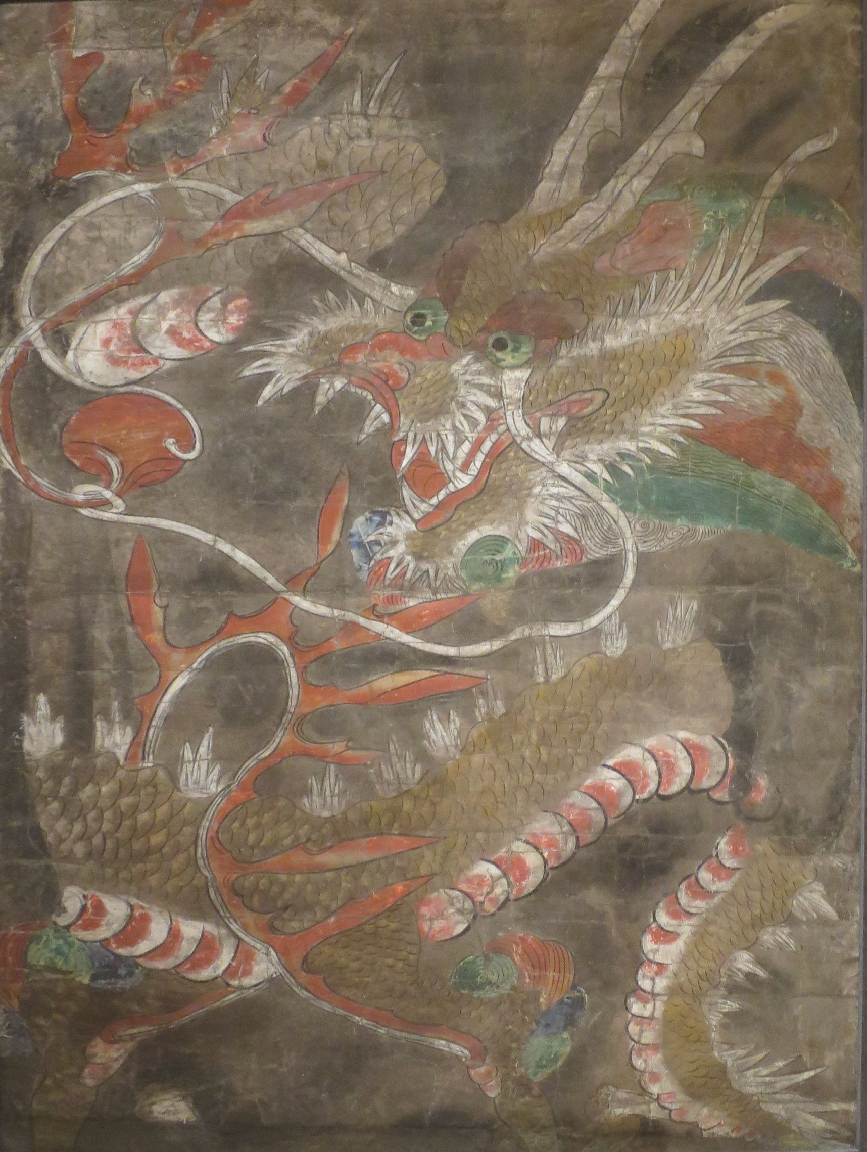 Korean Dragon: File:Korean Ink And Color Painting Of Dragon, 18th Century