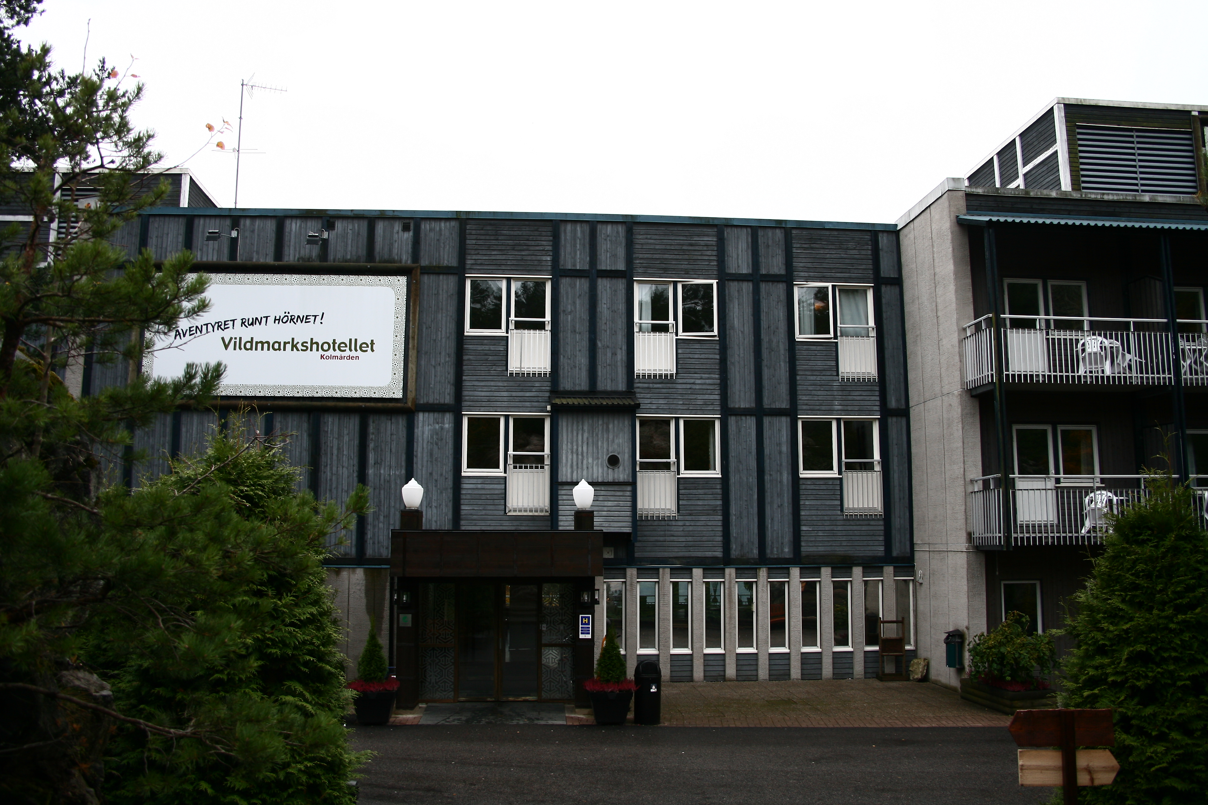 vildmarkshotellet kolmården hotell