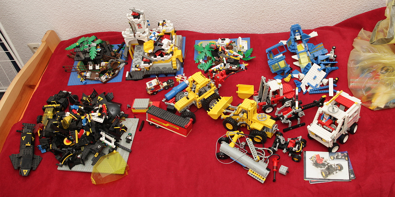 Classic Lego Technic Car