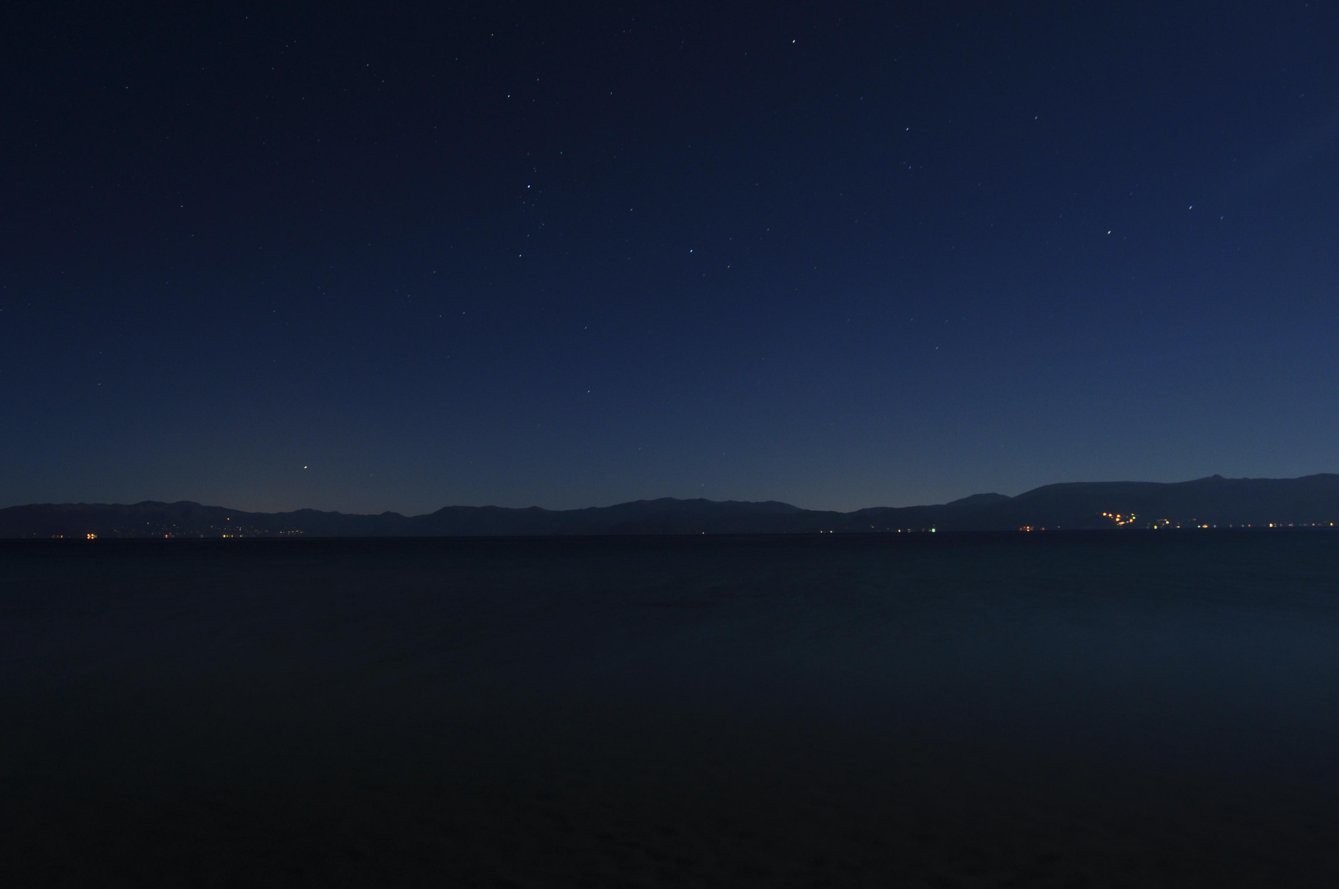 Lake Tahoe at Night : NightOwls