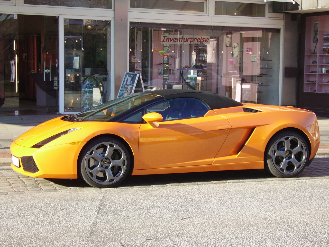 File Lamborghini Gallardo Profile Jpg Wikipedia