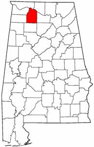 Water contamination in Lawrence and Morgan Counties, Alabama