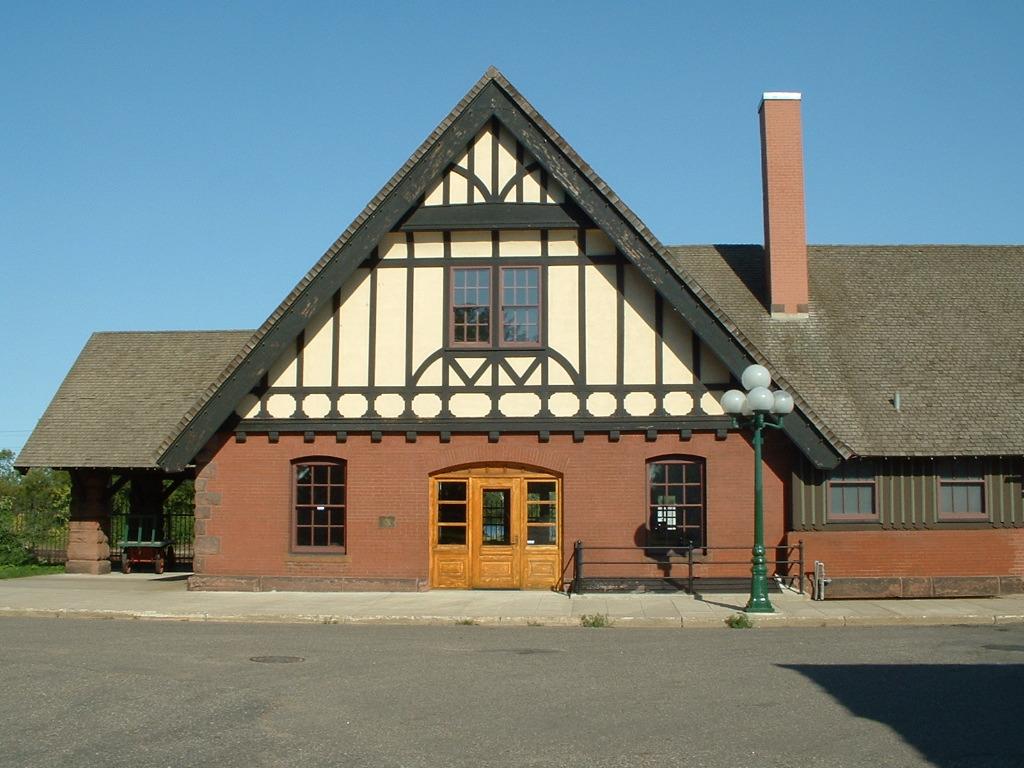 282d056515e Northern Pacific Railway Depot (Little Falls