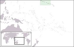 Mapo de Nordokcidentaj havajaj insuloj