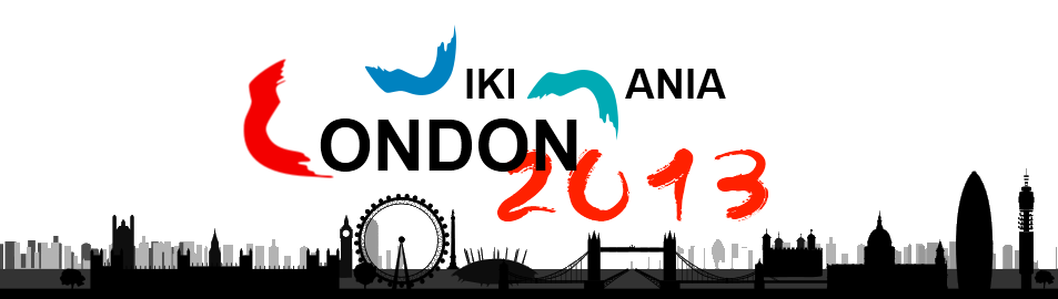 London Wikimania Logo 2013