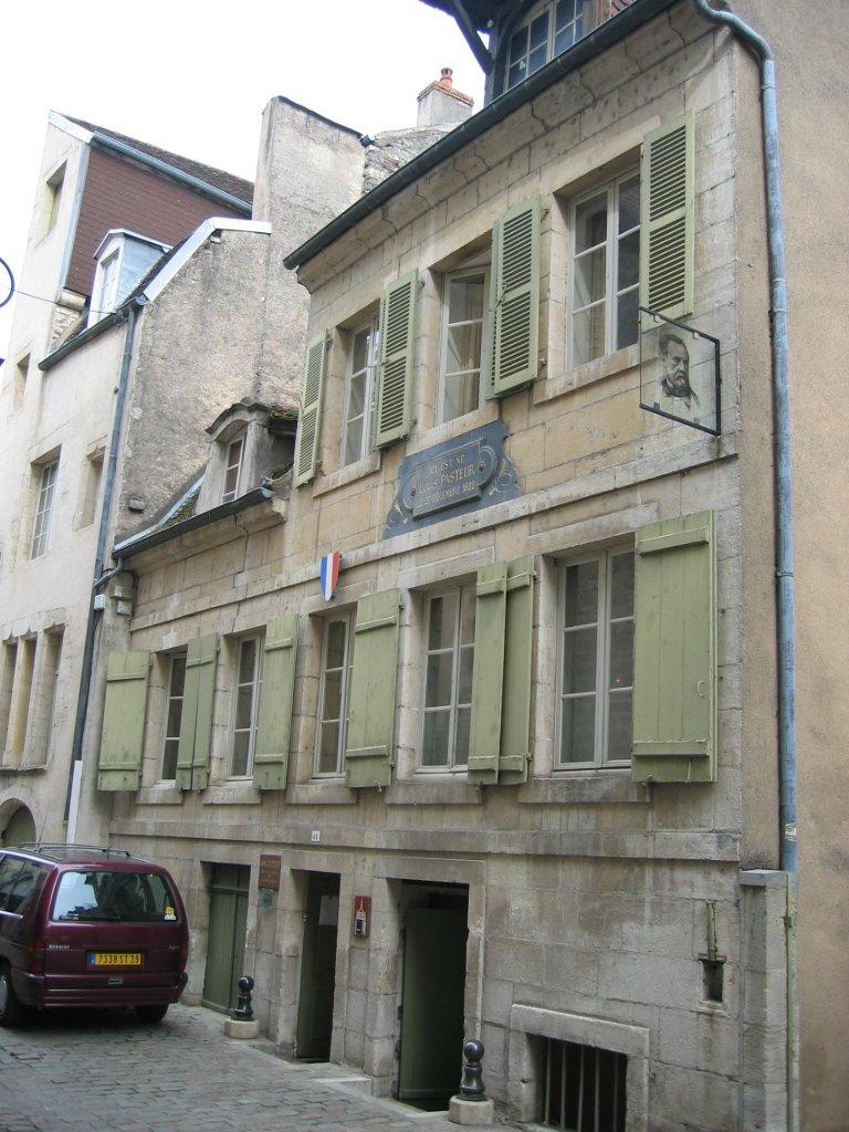 Maison de louis pasteur dole wikip dia for Maison dole