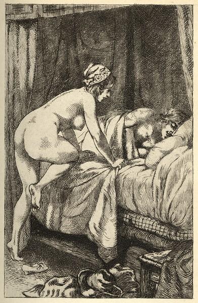 ''La vraye Histoire comique de Francion'', illustration by [[Martin van Maële