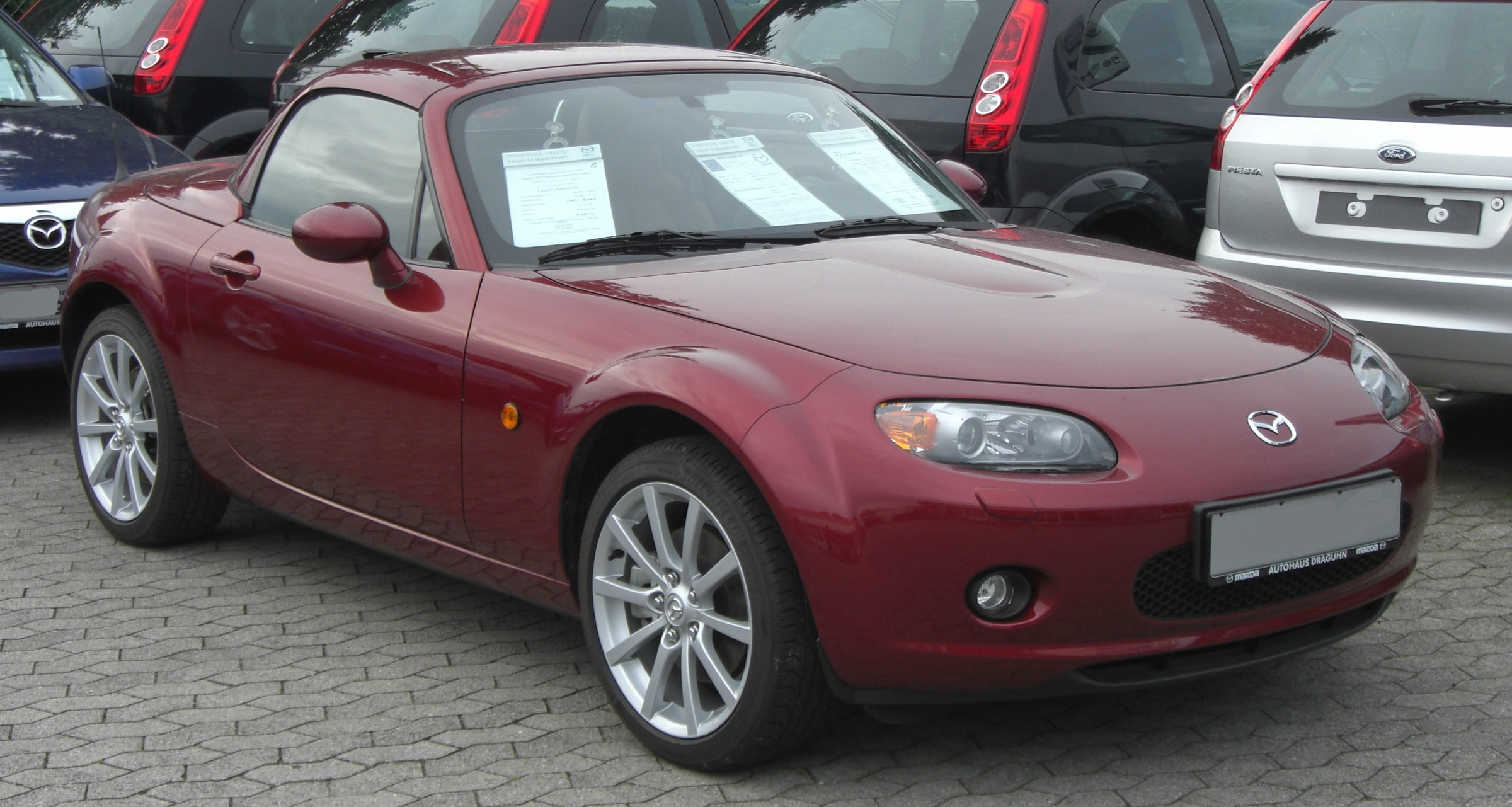 file mazda mx 5 nc front jpg wikimedia commons. Black Bedroom Furniture Sets. Home Design Ideas