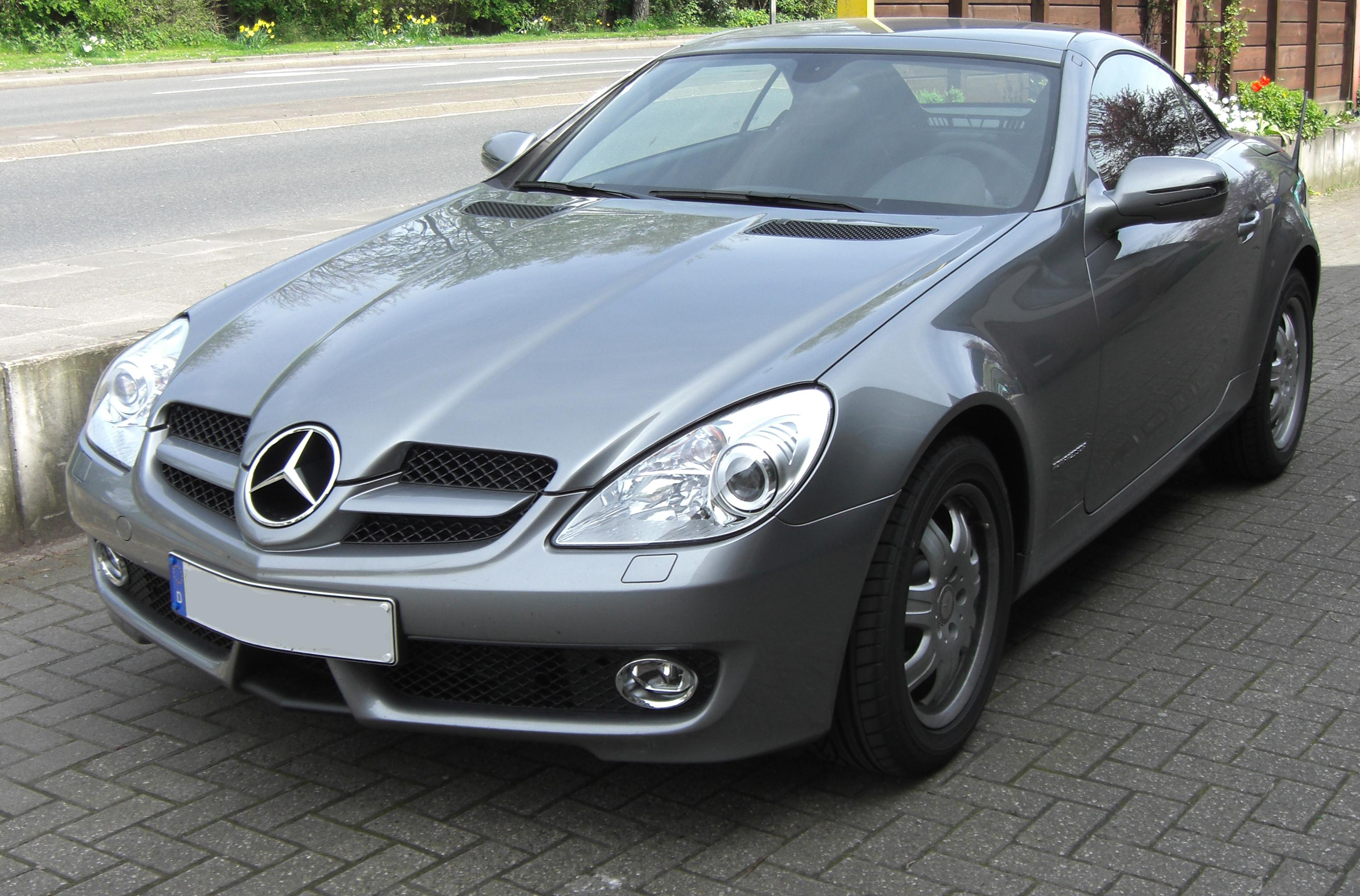 file mercedes slk 200 kompressor facelift wikimedia commons. Black Bedroom Furniture Sets. Home Design Ideas