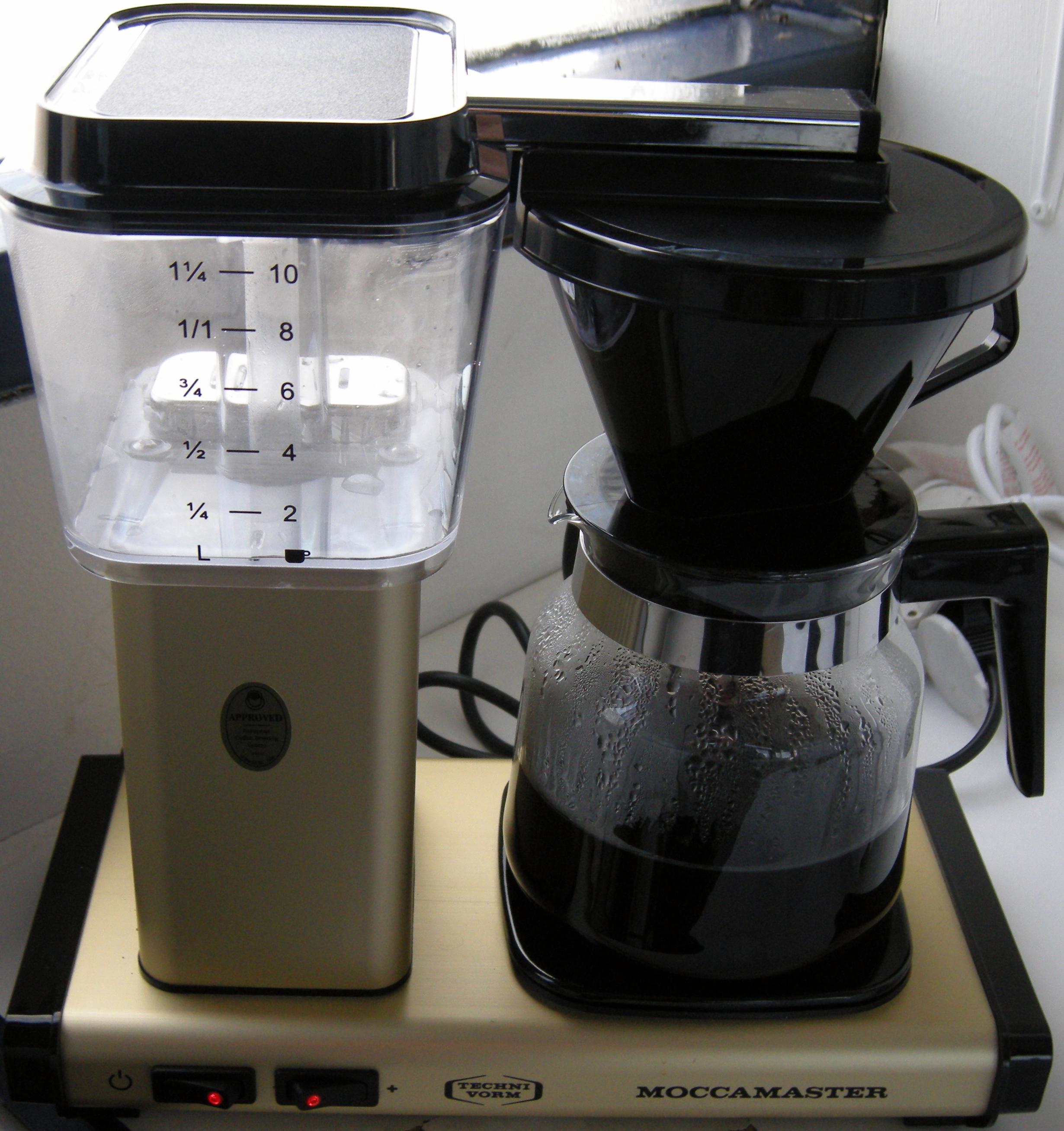 dobermanni foorumi kahvinkeitin moccamaster