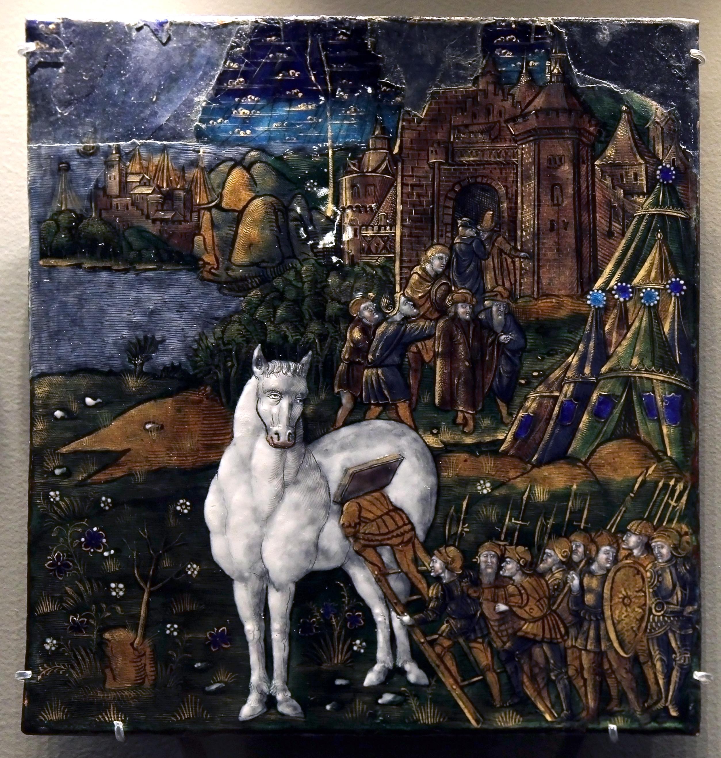 Filemusée Du Louvre Objets Dart Emaux De Limoges Maître De