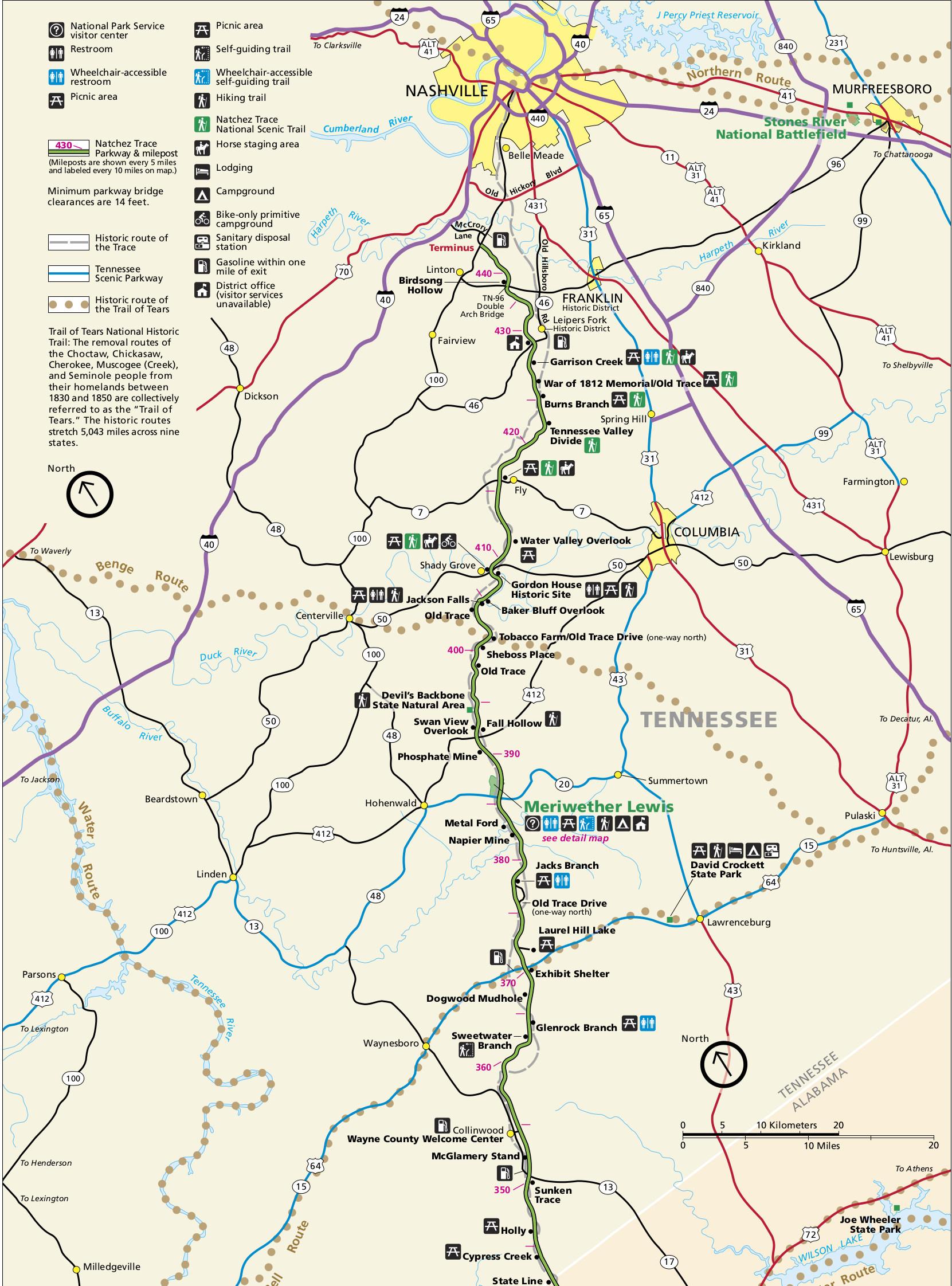 File Nps Natchez Trace4 Tennessee Jpg Wikimedia Commons