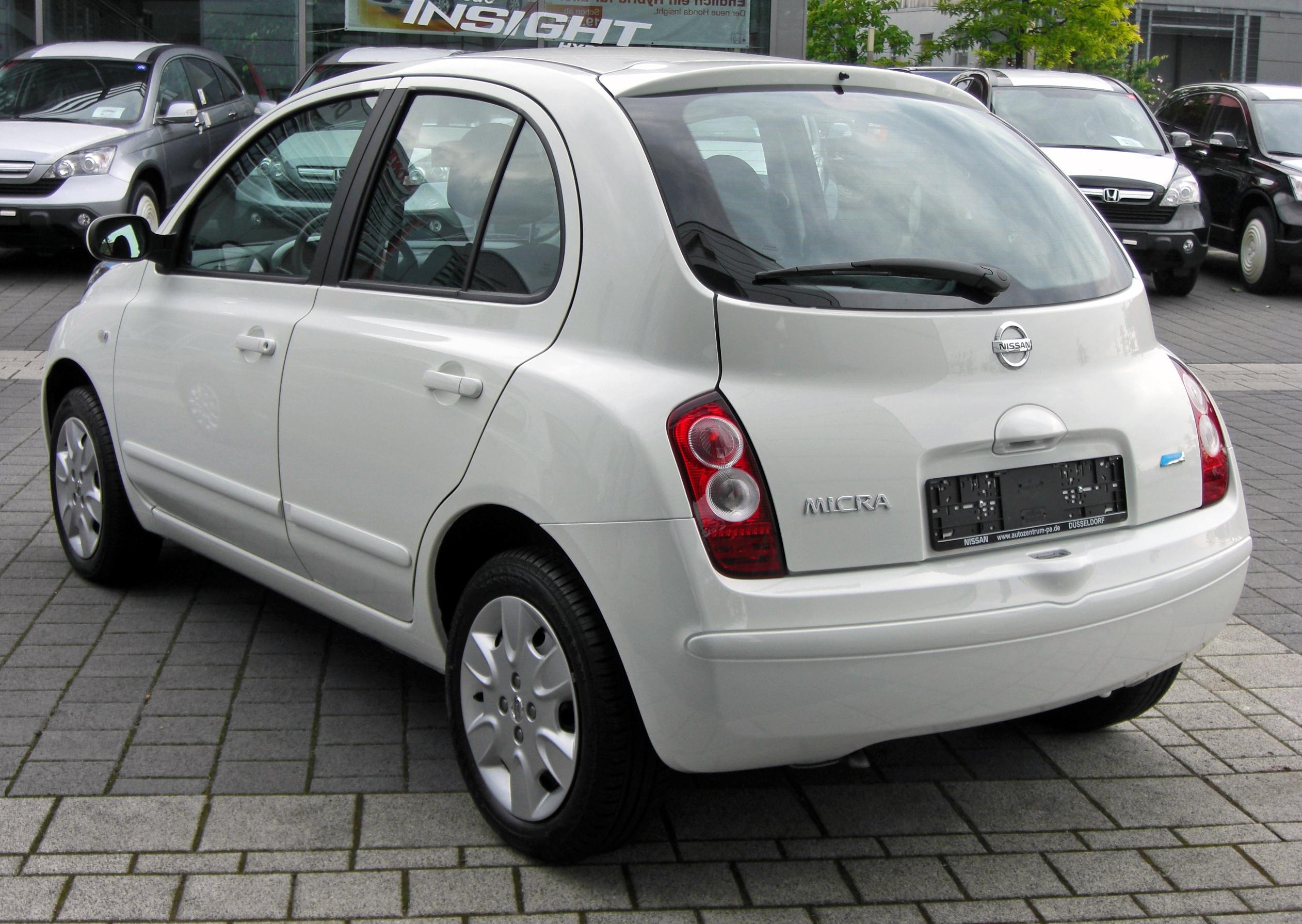 file nissan micra iii facelift 20090620 rear 1 jpg wikimedia commons. Black Bedroom Furniture Sets. Home Design Ideas