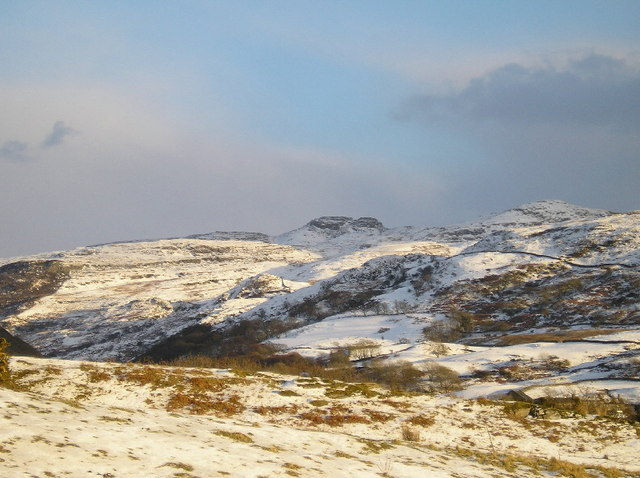 North Rhinogs St Davids day - geograph.org.uk - 142761