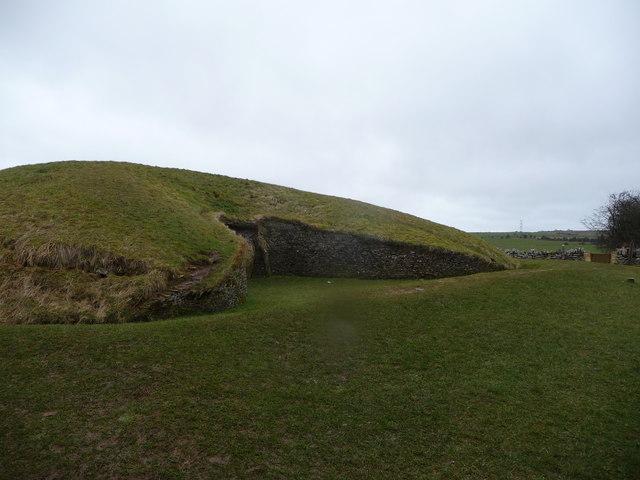 North portal of Belas Knap long barrow. - geograph.org.uk - 1195159