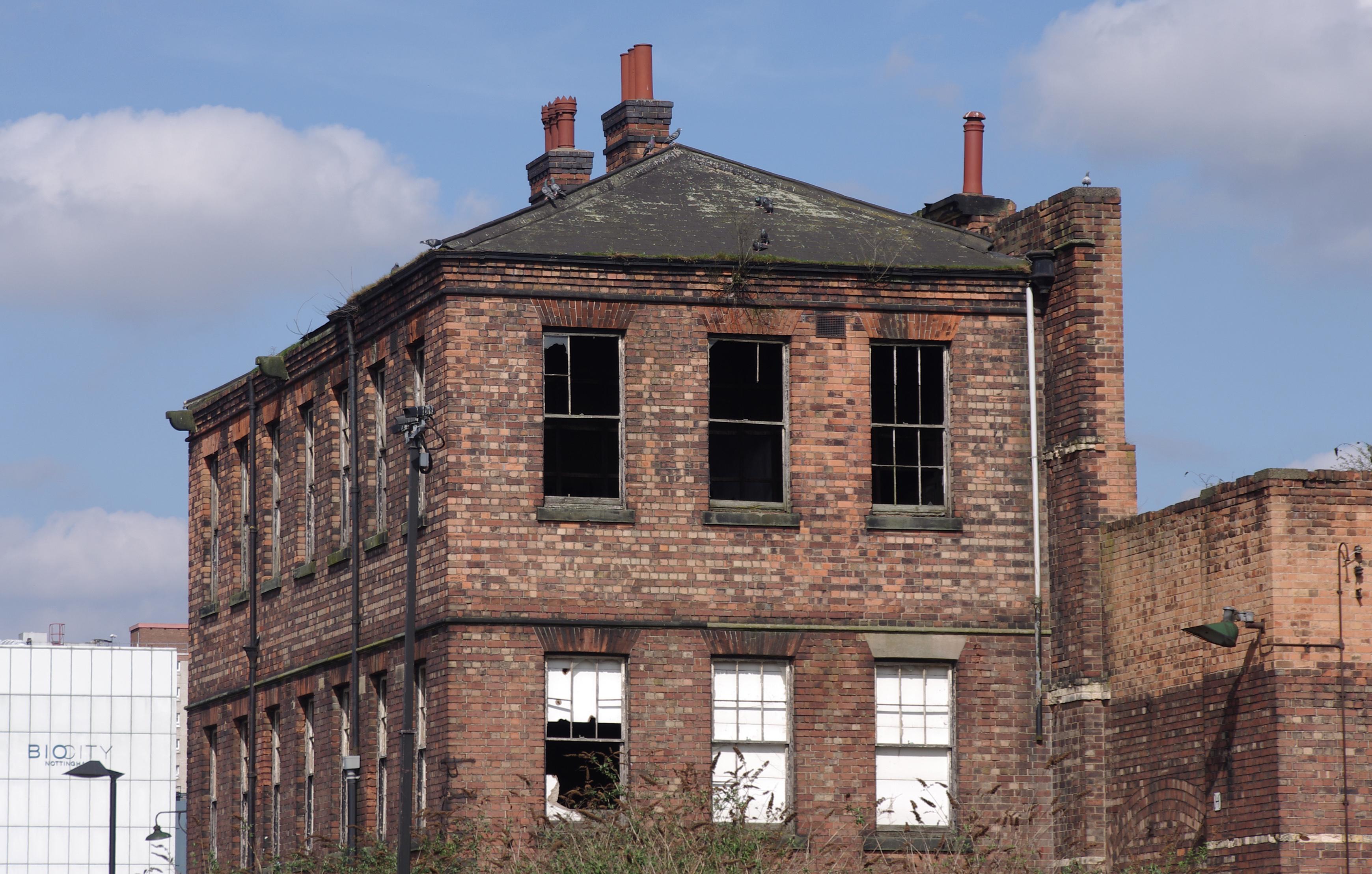 Derelict Buildings London