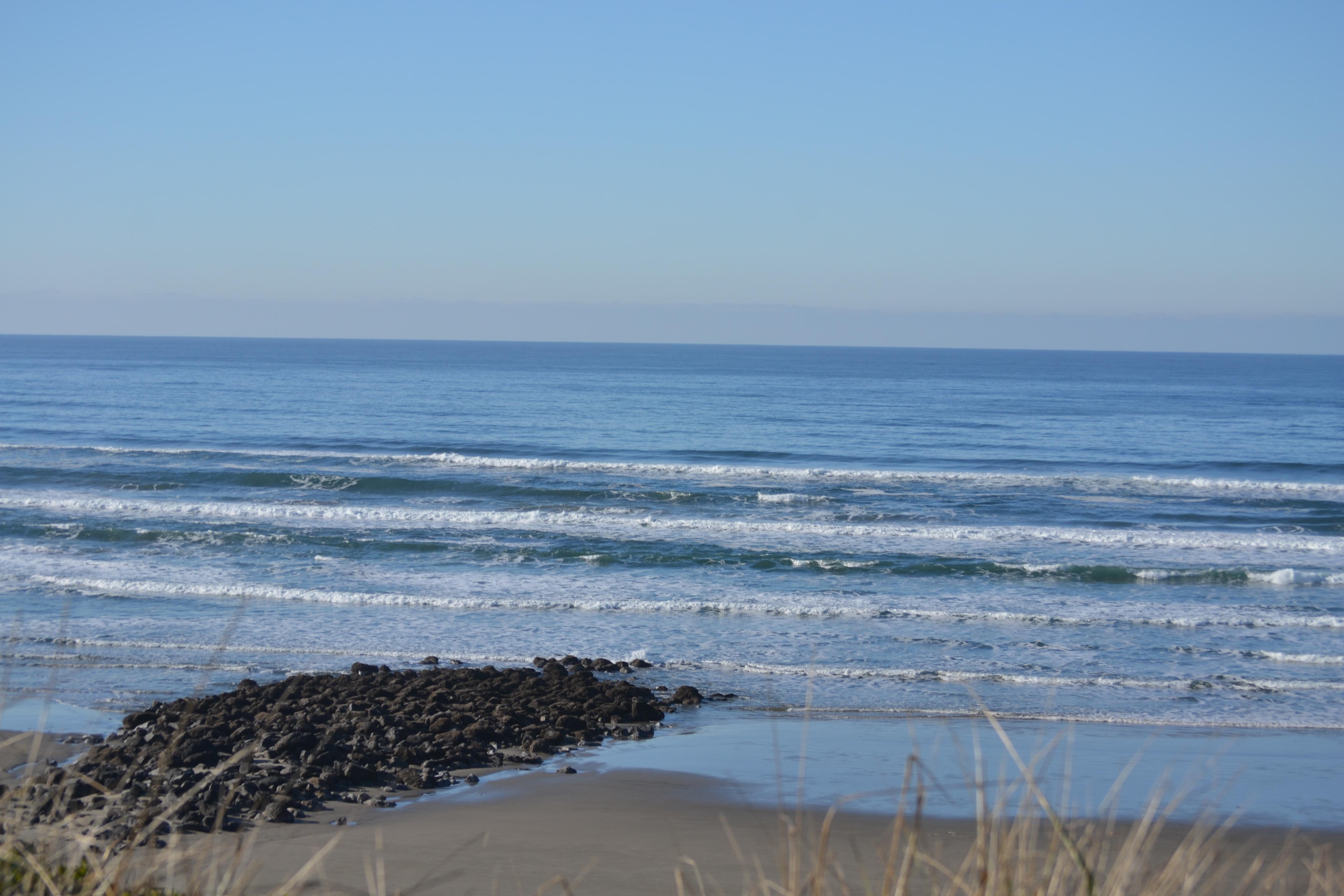 File Nye Beach Rocks Newport Oregon Jpg