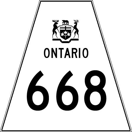 Números en imagen - Página 37 Ontario_Highway_668