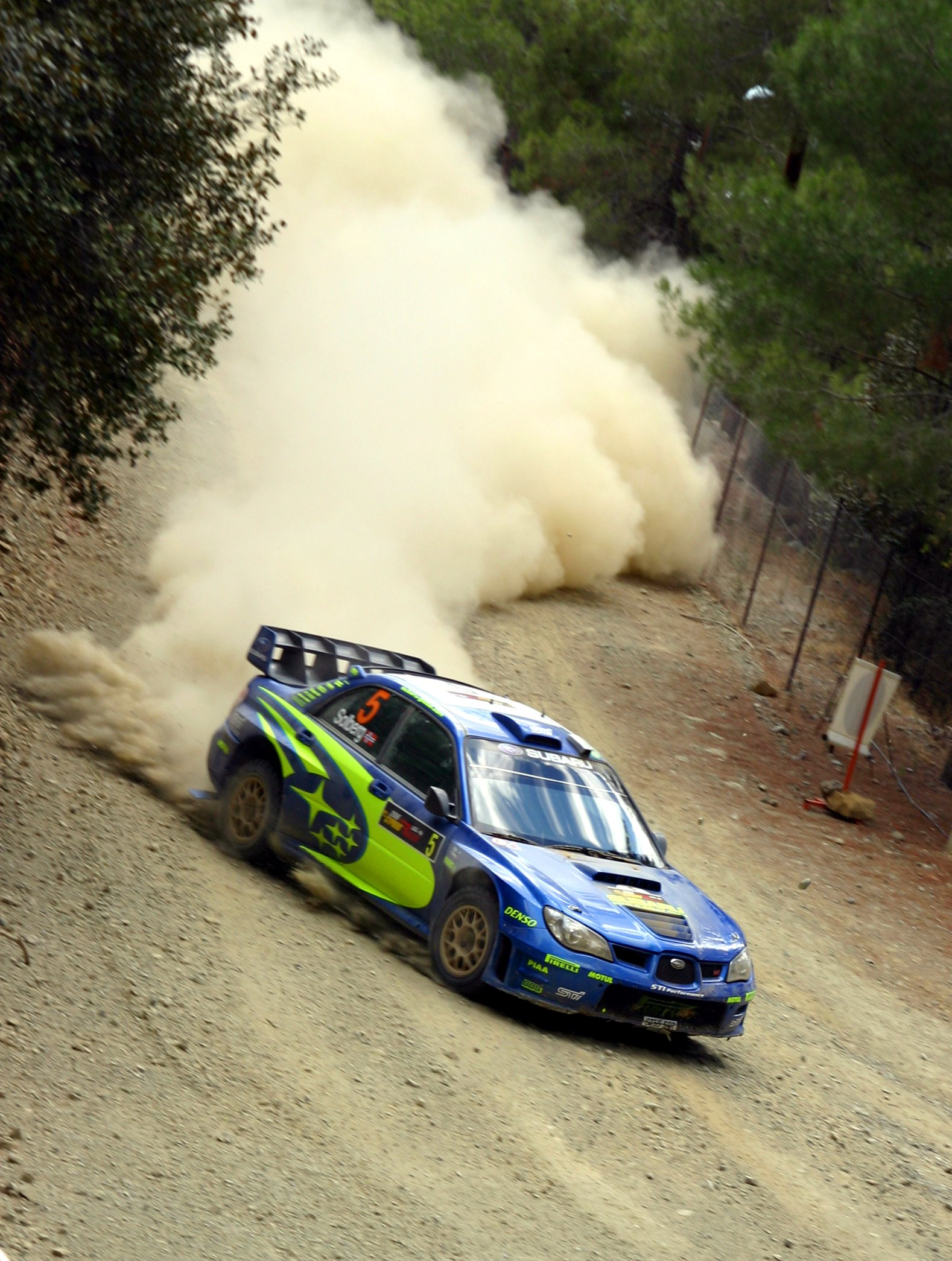 Description petter solberg - 2006 cyprus rally