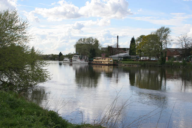Pleasure boats on the river - geograph.org.uk - 785203
