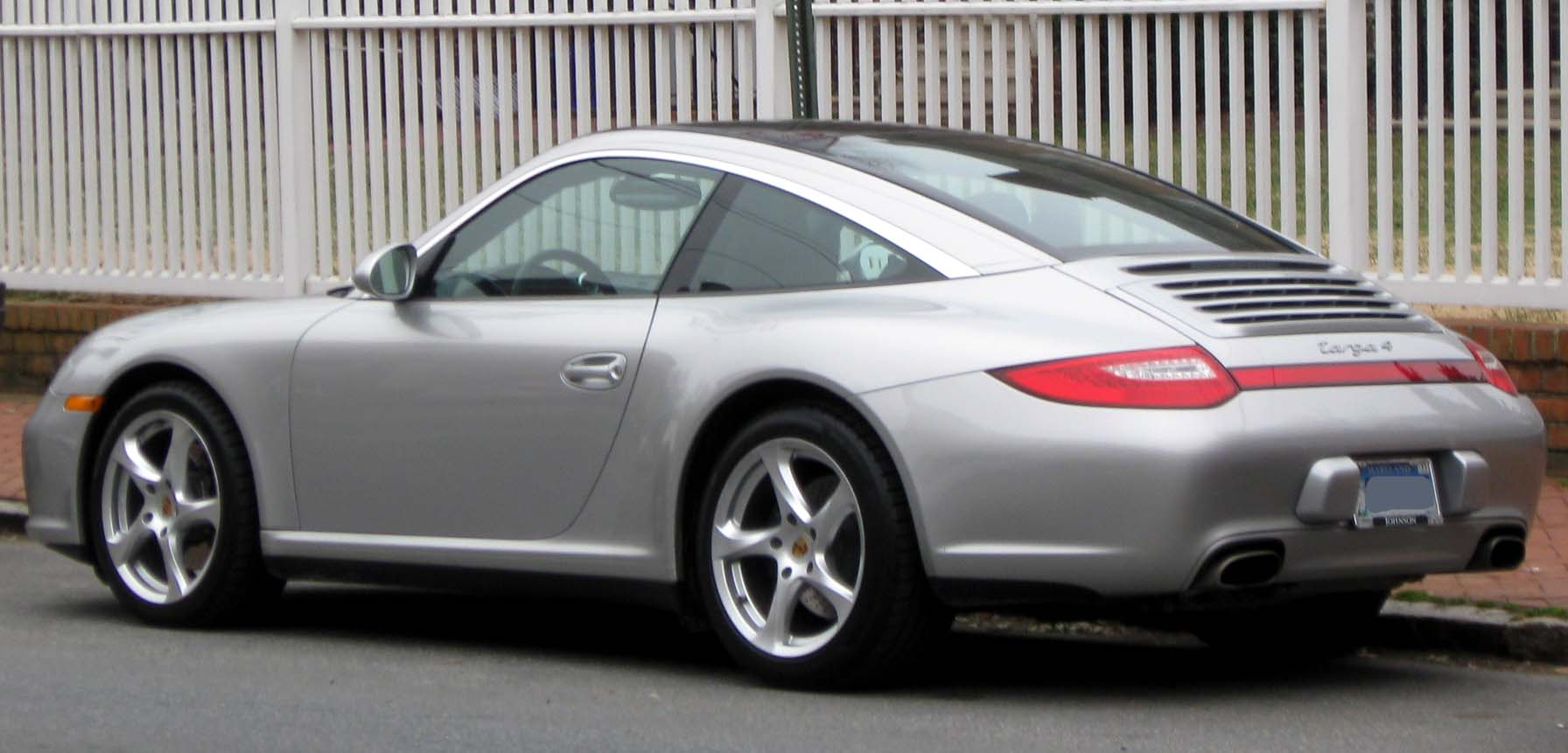 File Porsche 911 Targa 4 Rear 03 11 2010 Jpg
