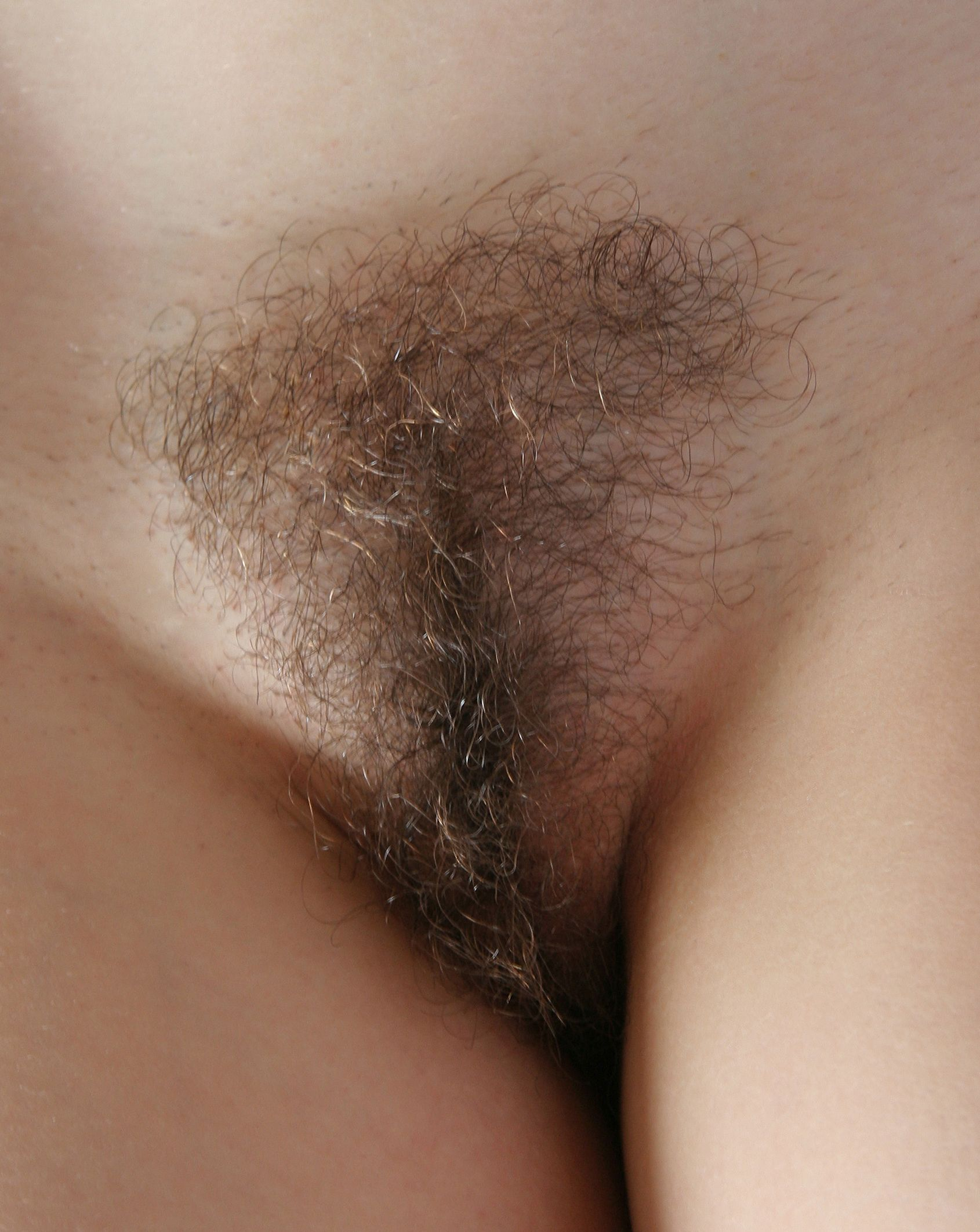 hairy female pubes