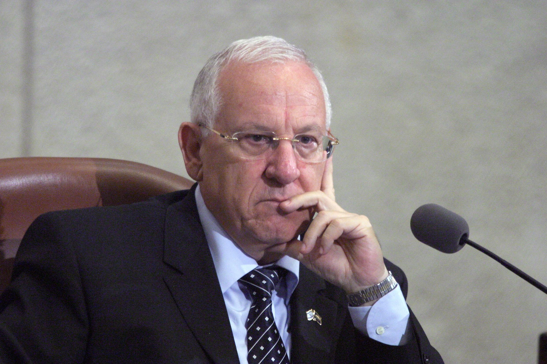 """Reuven """"Rubi"""" Rivlin, Israels neuer Präsident"""