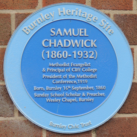 Photo of Samuel Chadwick blue plaque