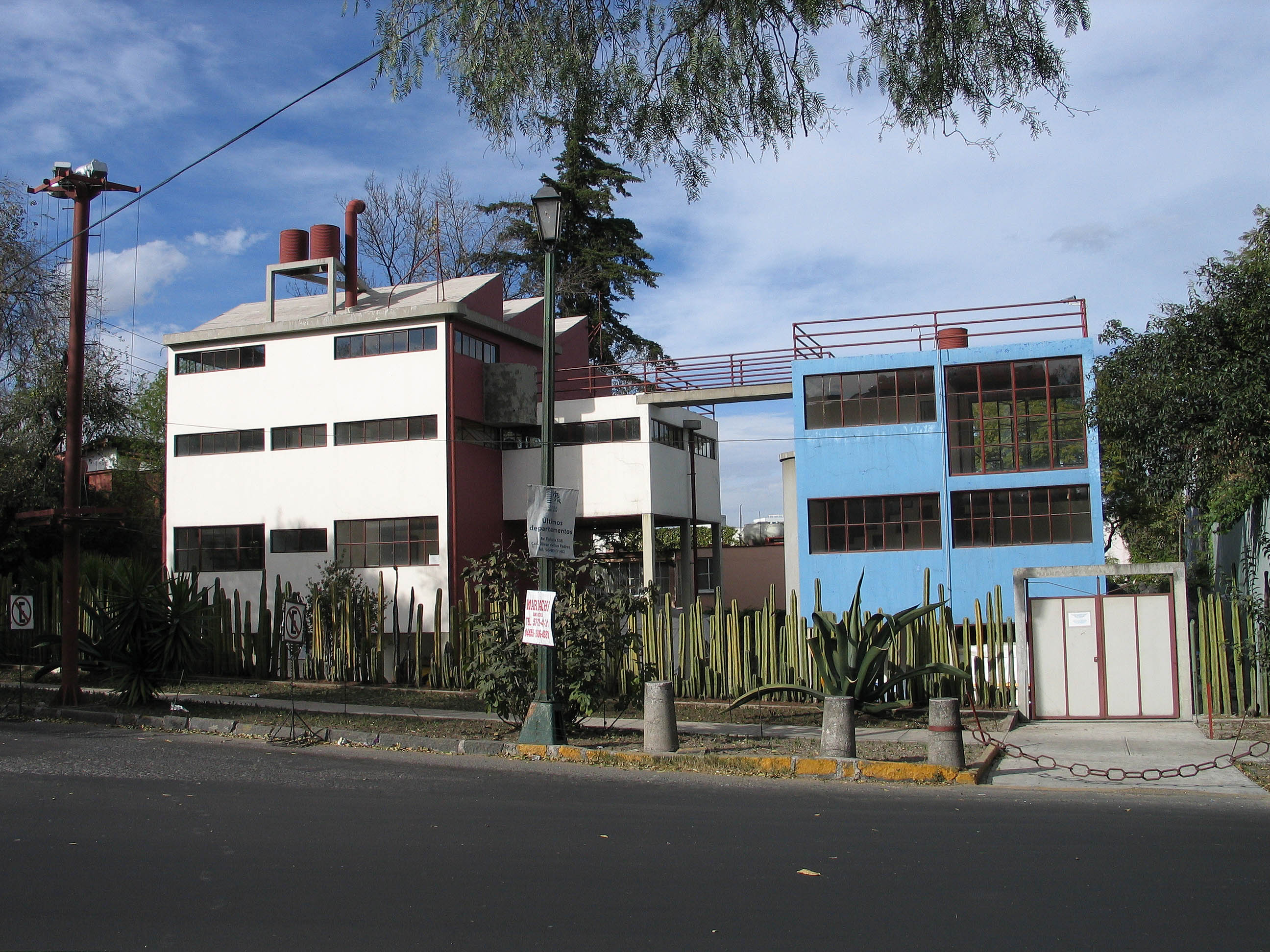 Frida Kahlo and Diego Rivera House